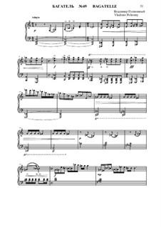 50 Bagatelles GBH: Багатели No.49-50 by Владимир Полионный