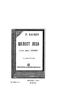 Зигфрид, WWV 86c: Шум леса by Рихард Вагнер