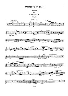 Souvenir du Rigi, Op.34: Партия валторны by Франц Допплер