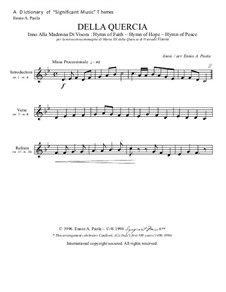 Della Quercia: Dictionary of music themes by Unknown (works before 1850)