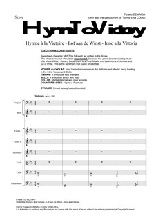 Hymn To Victory: Hymn To Victory by Tormy Van Cool