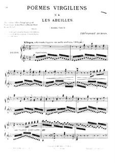 Poèmes virgiliens: No.4 Les abeilles by Теодор Дюбуа
