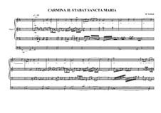 Work for Organ No.2 'Stabat sancta Maria', MVWV 295: Work for Organ No.2 'Stabat sancta Maria' by Maurice Verheul