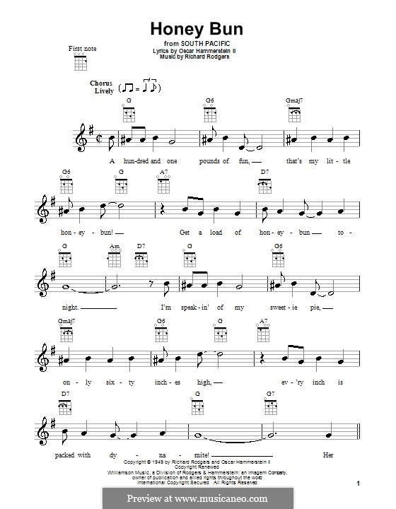 Honey Bun: Для укулеле by Richard Rodgers