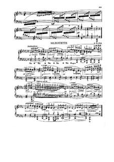 Силуэты, B.32 Op.8: No.2 ре-бемоль мажор by Антонин Дворжак