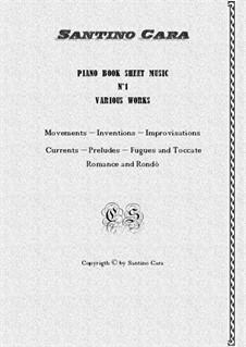 Piano book No.1 classical music scores (10 pieces with mp3 audio): Piano book No.1 classical music scores (10 pieces with mp3 audio) by Santino Cara