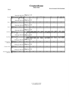Creaturehouse: Flute choir, AMSM63 by Steven Grames, Eric Kartchner