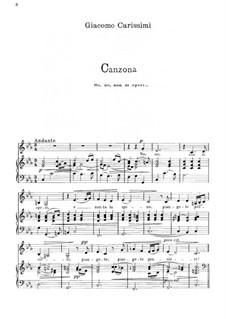 No, no, non si speri: C Minor by Джакомо Кариссими