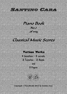 Piano book No.2 classical music scores (13 pieces with mp3 audio): Piano book No.2 classical music scores (13 pieces with mp3 audio) by Santino Cara