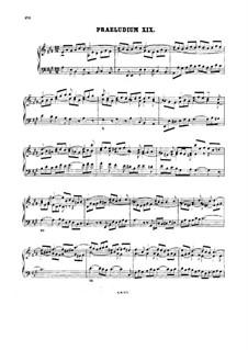 Прелюдия и фуга No.19 ля мажор, BWV 888: Для клавесина by Иоганн Себастьян Бах
