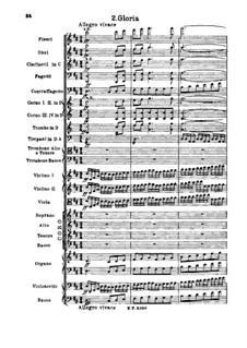 Missa Solemnis, Op.123: Gloria by Людвиг ван Бетховен