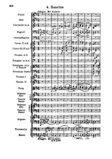 Missa Solemnis, Op.123: Sanctus by Людвиг ван Бетховен