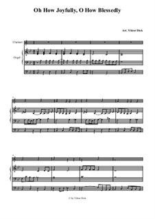Полный радости: Для кларнета и органа by folklore