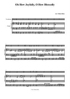 Полный радости: Для тромбона и органа by folklore