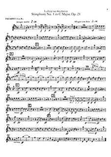 Вся симфония: Партии труб by Людвиг ван Бетховен
