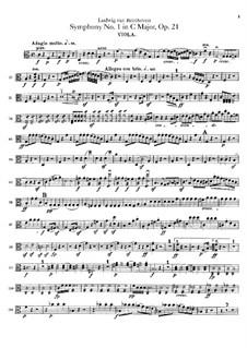 Вся симфония: Партия альта by Людвиг ван Бетховен