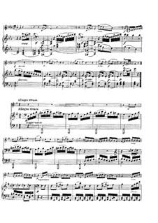 Соната для скрипки и фортепиано No.8, Op.30 No.3: Allegro vivace by Людвиг ван Бетховен