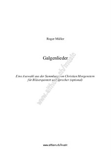 Gallows songs: Gallows songs by Roger Müller