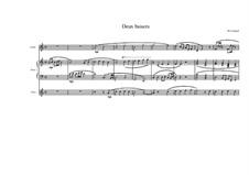 Chansons pour les enfants (Nine songs for children): No.1 pour flûte, guitare et piano, MVWV 409 by Maurice Verheul