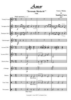 Amor. Serenata mariachi: Amor. Serenata mariachi by Santino Cara