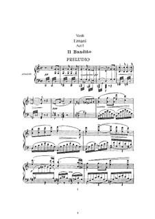 Эрнани: Аранжировка для солистов, хора и фортепиано by Джузеппе Верди