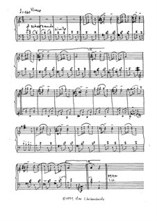 Gallop: Facsimile score by Ilias Chrissochoidis