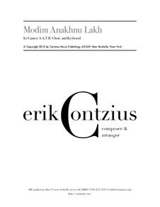 Modim Anakhnu Lakh: Modim Anakhnu Lakh by Erik Contzius
