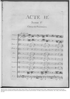 Amadis des Gaules, Overtüre - Partitur, W G39: Акт II – партитура by Иоганн Христиан Бах