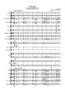 No.9 Избушка на курьих ножках (Баба-Яга): Для симфонического оркестра by Модест Мусоргский