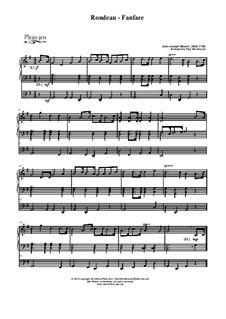 Рондо: Для органа by Жан-Жозеф Муре