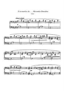 В манере, M.63: Бородина by Морис Равель