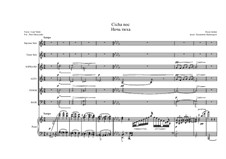 Тихая ночь (ноты для скачивания): Для солистов, смешанного хора и фортепиано by Франц Ксавьер Грубер