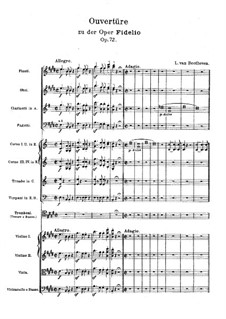 Фрагменты: Увертюра и Акт I by Людвиг ван Бетховен