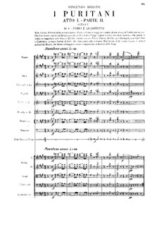 Пуритане: Акт I (часть II) by Винченцо Беллини