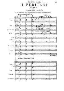 Пуритане: Акт II by Винченцо Беллини