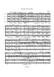 Serenade for Four Cellos: Serenade for Four Cellos by Jordan Grigg