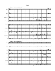 Symphony No.12 in E flat Minor: Movements II-IV by Jordan Grigg