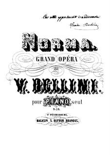 Вся опера: Клавир by Винченцо Беллини