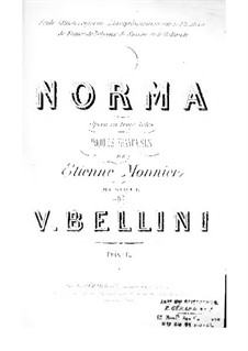 Вся опера: Французский текст by Винченцо Беллини