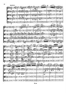 Струнный квинтет No.1 ми-бемоль мажор, Op.4: Части I-II by Людвиг ван Бетховен