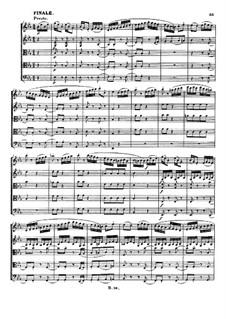Струнный квинтет No.1 ми-бемоль мажор, Op.4: Часть IV by Людвиг ван Бетховен