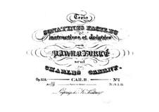 Три легкие сонатины, Op.158: Сонатина No.1 by Карл Черни