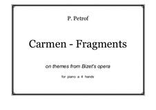 Избранные темы: Для фортепиано в 4 руки by Жорж Бизе