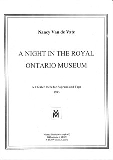 A Night in the Royal Ontario Museum: A Night in the Royal Ontario Museum by Nancy Van de Vate
