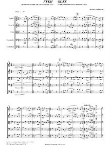 Гуки, Op.14: Гуки by Александр Ходаковский