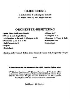 Концерт для скрипки с оркестром 'Памяти ангела': Партитура by Альбан Берг