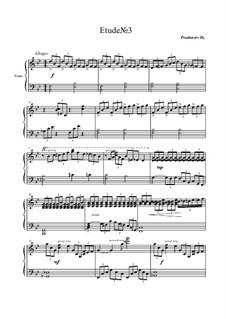 Etude No.3, Op.2: Этюд No.3 by Дмитрий Проданец
