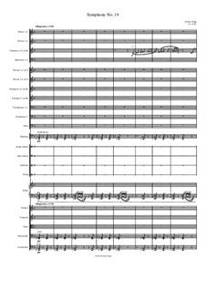 Symphony No.19: Symphony No.19 by Jordan Grigg