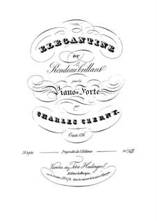 Elegantine ou Rondeau Brillant, Op.136: Elegantine ou Rondeau Brillant by Карл Черни