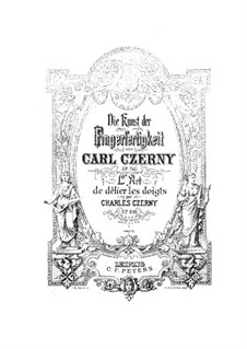 Искусство беглости пальцев, Op.740: Весь сборник by Карл Черни